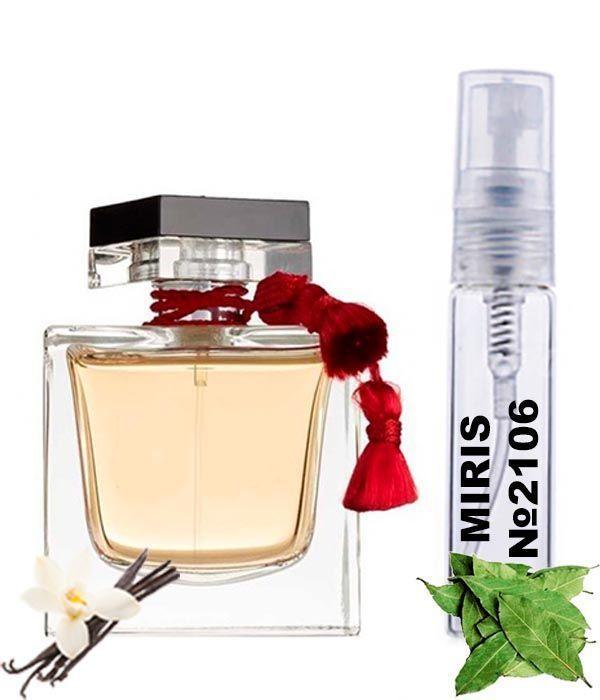 Пробник Духов MIRIS №2106 (аромат похож на Lalique Le Parfum) Женский 3 ml