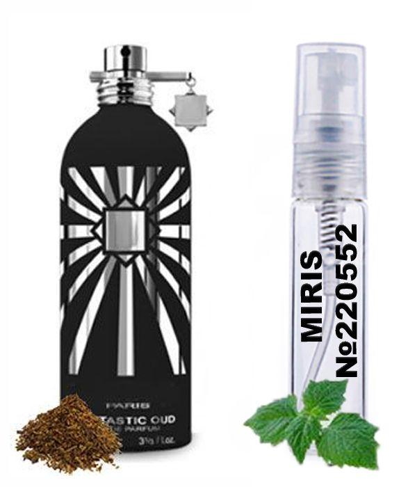Пробник Духів MIRIS №220552 (аромат схожий на Montale Fantastic Oud) Унісекс 3 ml