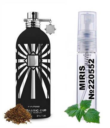 Пробник Духів MIRIS №220552 (аромат схожий на Montale Fantastic Oud) Унісекс 3 ml, фото 2