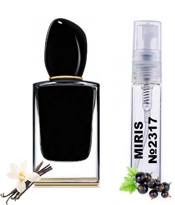 Пробник Духов MIRIS №2317 (аромат похож на Armani Si Intense) Женский 3 ml