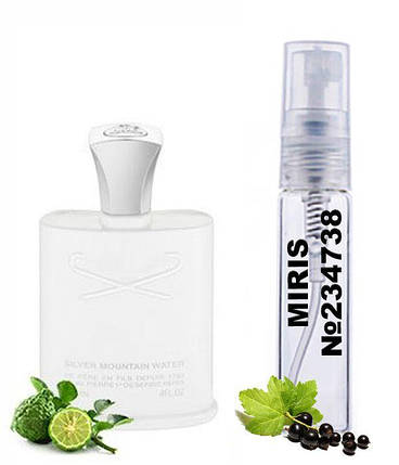 Пробник Духов MIRIS №234738 (аромат похож на Creed Silver Mountain Water) Унисекс 3 ml, фото 2