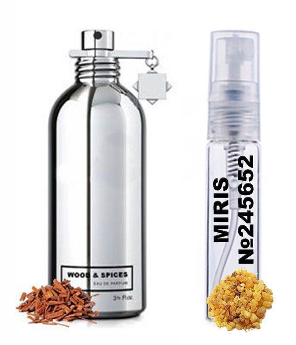 Пробник Духов MIRIS №245652 (аромат похож на Montale Wood and Spices) Унисекс 3 ml