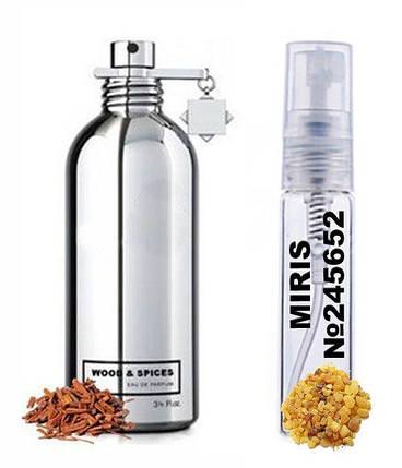 Пробник Духов MIRIS №245652 (аромат похож на Montale Wood and Spices) Унисекс 3 ml, фото 2