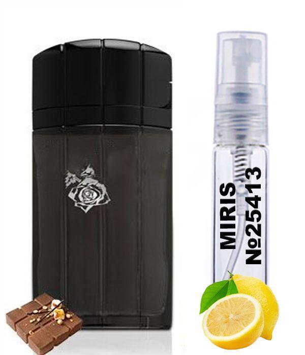Пробник Духов MIRIS №25413 (аромат похож на Paco Rabanne Black XS Men) Мужские 3 ml