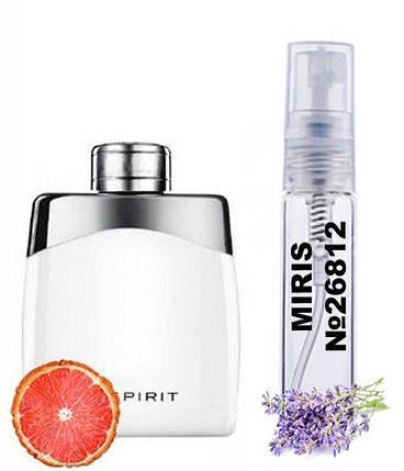 Пробник Духов MIRIS №26812 (аромат похож на MontBlanc Legend Spirit) Мужские 3 ml, фото 2