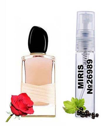 Пробник Духів MIRIS №26989 (аромат схожий на Armani Si Rose Signature) Жіночий 3 ml, фото 2