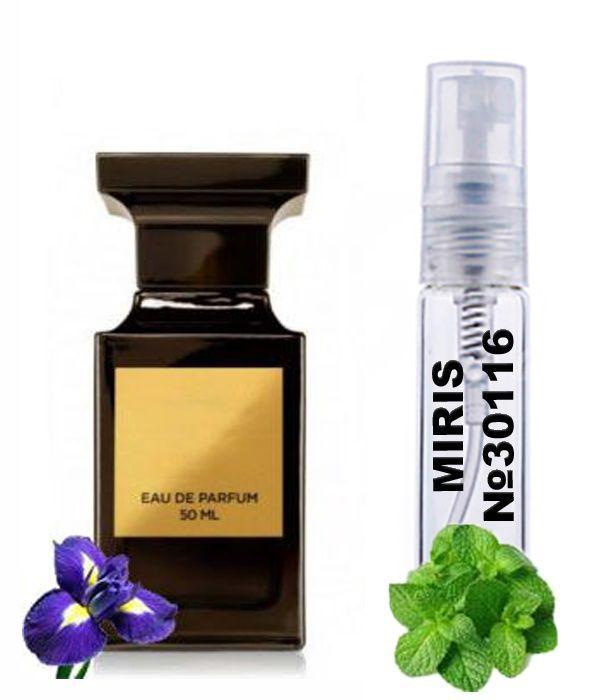 Пробник Духів MIRIS №30116 (аромат схожий на Tom Ford Ombre Leather 16) Унісекс 3 ml