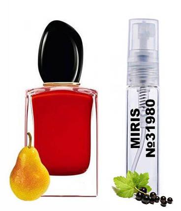 Пробник Духів MIRIS №31980 (аромат схожий на Armani Si Passione) Жіночий 3 ml, фото 2
