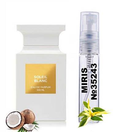 Пробник Духов MIRIS №35243 (аромат похож на Tom Ford Soleil Blanc) Унисекс 3 ml, фото 2