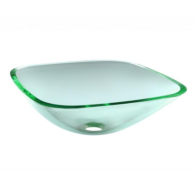 Эксклюзивный умывальник стеклянный квадратный TORINO (Торино)