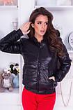 Куртка жіноча демісезонна, гірчиця, чорний, хакі, пудра, червоний, фото 3