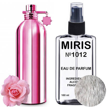Духи MIRIS №1012 (аромат похож на Montale Crystal Flowers) Унисекс 100 ml, фото 2