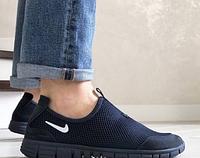 Беговые кроссовки Nike Free Run 3.0 черные размер 41 42 43 44 45