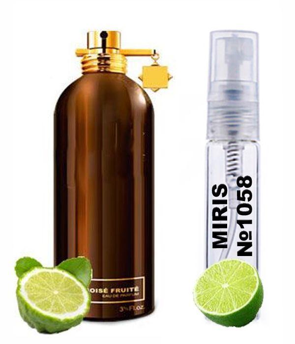 Пробник Духів MIRIS №1058 (аромат схожий на Montale Boise Fruite) Унісекс 3 ml