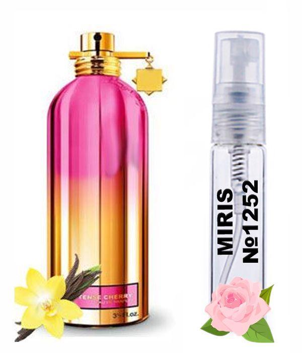 Пробник Духов MIRIS №1252 (аромат похож на Montale Intense Cherry) Унисекс 3 ml