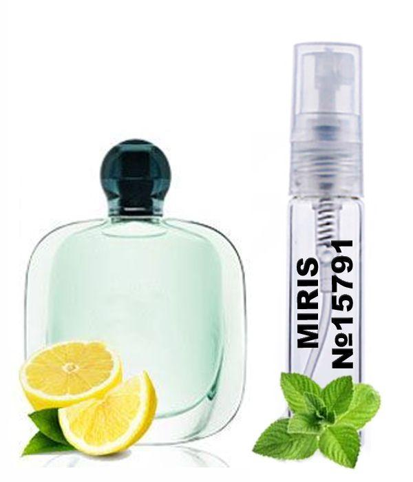 Пробник Духов MIRIS №15791 (аромат похож на Armani Acqua di Gioia) Женский 3 ml