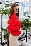 Куртка бомбер женский чёрный, красный, пудра, горчица, хаки, фото 4