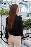 Куртка бомбер женский чёрный, красный, пудра, горчица, хаки, фото 9
