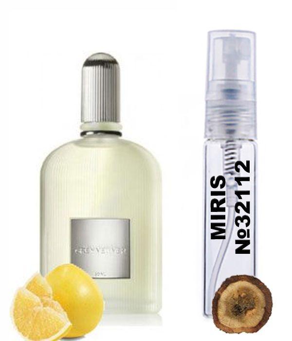 Пробник Духов MIRIS №32112 (аромат похож на Tom Ford Grey Vetiver) Мужские 3 ml
