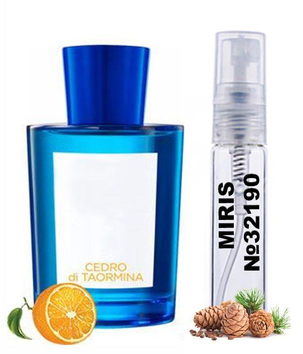 Пробник Духов MIRIS №32190 (аромат похож на Acqua di Parma Cedro Di Taormina) Унисекс 3 ml