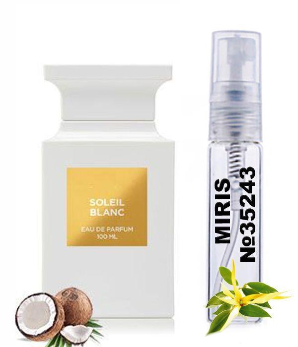 Пробник Духов MIRIS №35243 (аромат похож на Tom Ford Soleil Blanc) Унисекс 3 ml