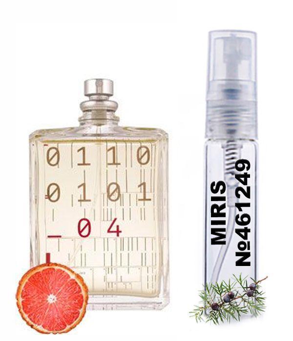 Пробник Духів MIRIS №461249 (аромат схожий на Escentric Molecules Escentric 04) Унісекс 3 ml