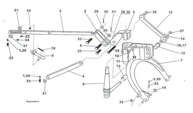 Навескакосилки роторной wirax z-169