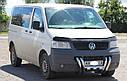Защита переднего бампера (рога) Volkswagen T5 (Transporter) 2003-2009, фото 3