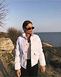 Куртка женская чёрная, красная, белая, бежевая, голубая, фреза, фото 8