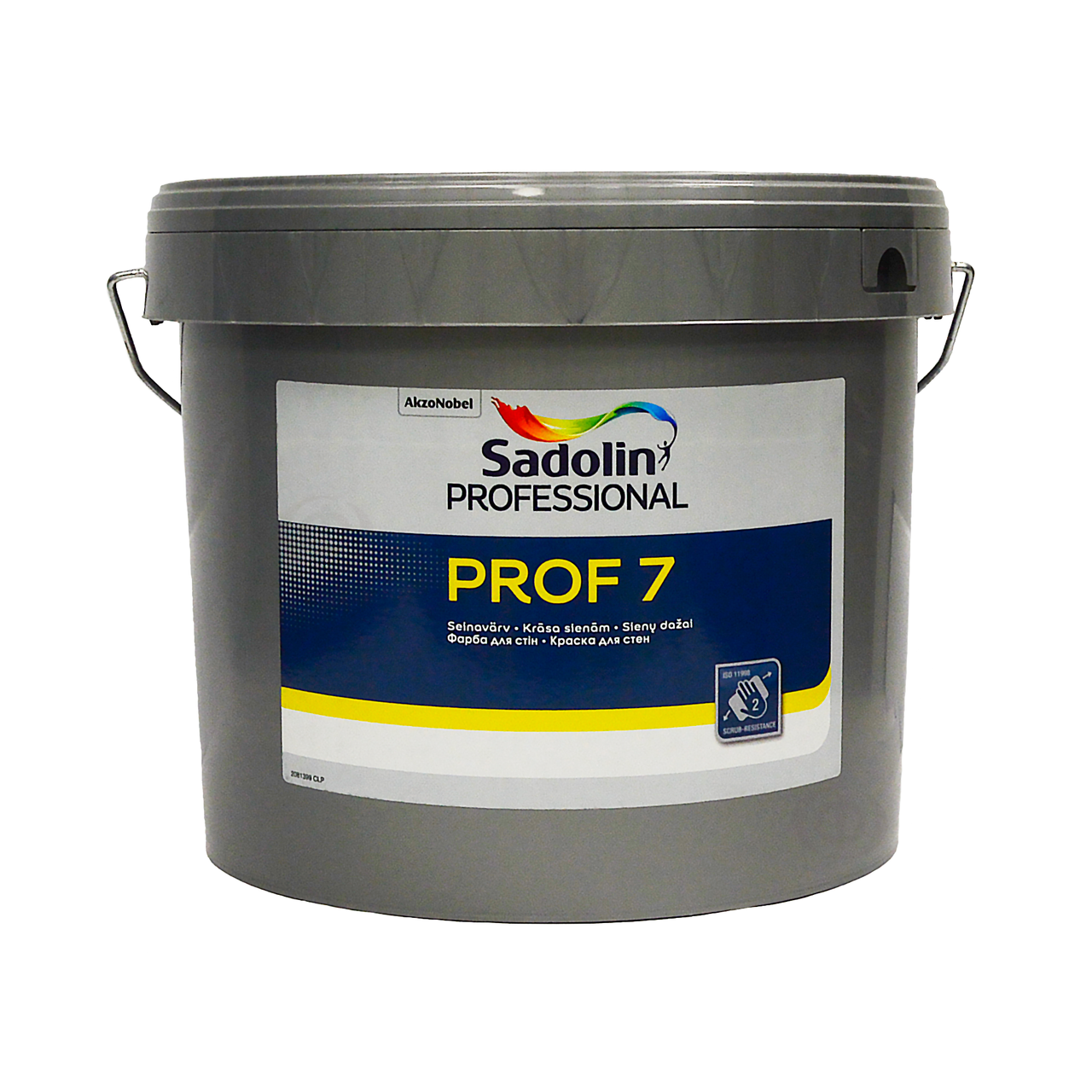 Матовая латексная краска Sadolin PROF 7 Белая 10 л для внутренних работ
