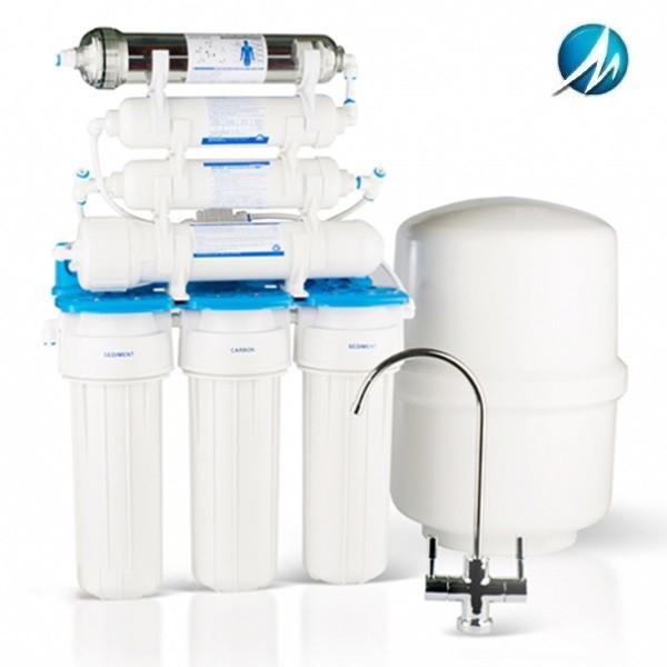 Фильтр обратного осмоса Aquafilter Голубая Лагуна 7 (RO6 bio)