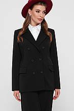 GLEM двубортный черный пиджак Паркер2