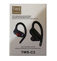 Наушники MDR TWS C2BT sport black