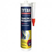 Монтажный клей для панелей и молдингов сверхпрочный Tytan бежевый 310 мл