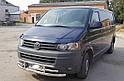 Защита переднего бампера (ус тройной) Volkswagen Т5 (Transporter) 2009-2015, фото 2