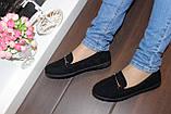 Туфли женские черные замшевые Т093, фото 7