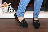 Туфлі жіночі чорні замшеві Т093, фото 8