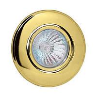 Светильник-спот точечный Horoz Electric Orkide max 50Вт MR16 золотой (015-007-0050)