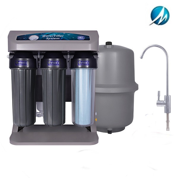 Фільтр зворотного осмосу Aquafilter ELITE7G-GP з насосом і датчиком тиску