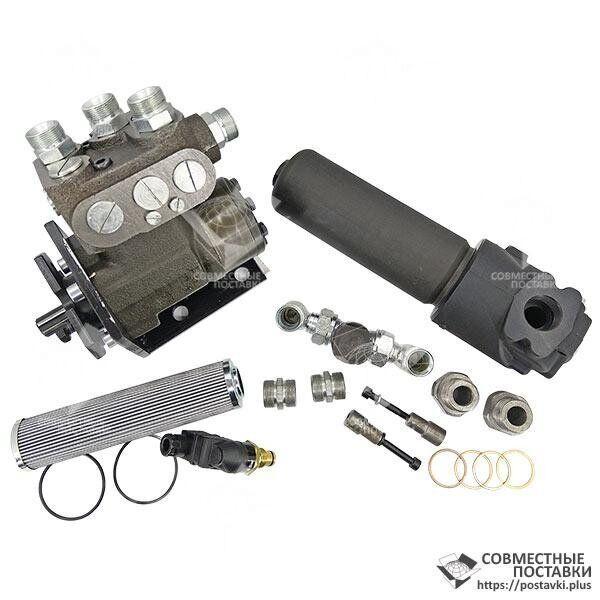 Комплект переоборудования К-700, К-701, К-702 на насос дозатор | установка дозатора вместо ГУР | переделка