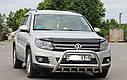 Кенгурятник с грилем (защита переднего бампера) Volkswagen Tiguan 2011-2016, фото 2