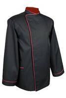 Черный поварской китель. Пошив мужской и женской поварской одежды