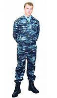 Костюм охранника камуфлированный. Форменная одежда