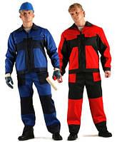 Костюм рабочий для производства, спецодежда, рабочая одежда, евроспецодежда