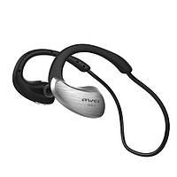Беспроводные Bluetooth наушники Awei A885BL с поддержкой aptX (Серебристый), фото 1