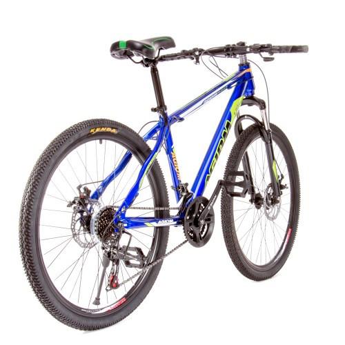 Велосипед спортивный подростковый AGIOM TZ-M1609 26 дюйма синий