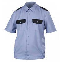 Рубашка мужская с коротким рукавом, для охранных структур