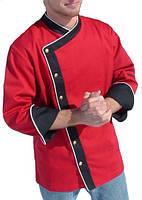Китель поварской красный, куртка для сушистов