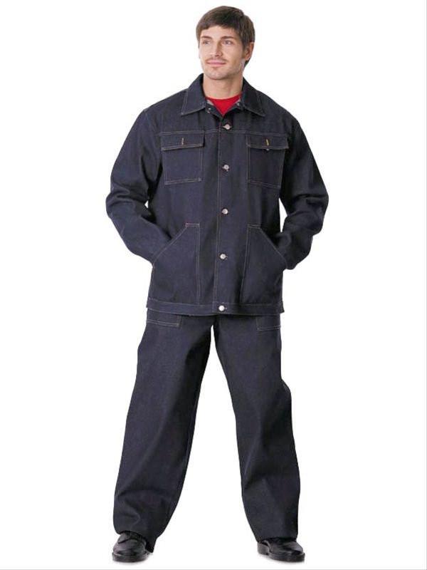 Костюм рабочий джинсовый - МС Групп b98aa2b0087e8