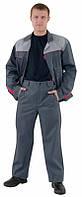 Костюм рабочий мужской, спецодежда, курточка и брюки, рабочая одежда